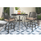 Rose View 3-Piece Outdoor Bar Table Set