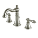 Kingston Brass American Classic Widespread Bathroom Faucet with Drain