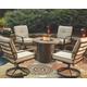 Predmore 5-Piece Outdoor Fire Pit Conversation Set