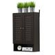 Furinno Indo Double Door Wall Cabinet