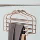 Contemporary Velvet Trouser Hangers (Set of 3)