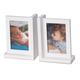 Bey-Berk White Picture Frame Bookend