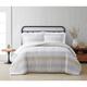 Cottage Classics Spa Stripe 3 Piece Full/Queen Comforter Set