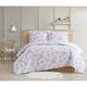 Cottage Classics Rose Dusk 2 Piece Twin XL Comforter Set