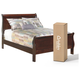 Alisdair Full Sleigh Bed with 8