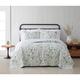 Cottage Classics Field Floral 2 Piece Twin/Twin XL Quilt Set