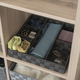 Contemporary Six Compartment Woven Organizer