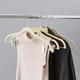 Sunbeam Velvet Hanger with Clips (Set of 5)