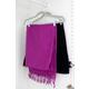 Contemporary Velvet Hanger with Clips (Set of 5)