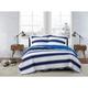 London Fog Watkins Stripe Twin XL 2-Piece Quilt Set