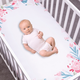 Trend Lab Painterly Floral Photo Op Fitted Crib Sheet