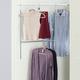 Contemporary Two Tier Hanging Closet Organizer
