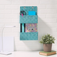 Contemporary Two Tier Hanging Woven Organizer