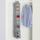 Contemporary Kensington Ten Shelf Hanging Closet Organizer
