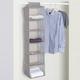 Contemporary Kensington Six Shelf Hanging Closet Organizer