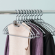 Contemporary Plastic Hangers (Set of 10)