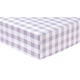 Trend Lab Gray Buffalo Check Deluxe Flannel Fitted Crib Sheet