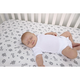 Trend Lab Chevron Deluxe Flannel Fitted Crib Sheet
