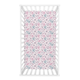 Trend Lab Watercolor Floral Jersey Fitted Crib Sheet