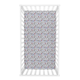Trend Lab Lilac Winter Forest Deluxe Flannel Fitted Crib Sheet
