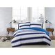 London Fog Watkins Stripe Twin XL 2-Piece Comforter Set