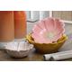 Imax Clara Ceramic Flower Bowls (Set of 3)