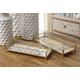 Imax Marigold Glass Decorative Tray (Set of 2)