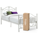 Bombai Twin Metal Bed with 8