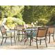 Carmadelia 5-Piece Outdoor Round Dining Set