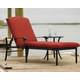 Tanglevale Outdoor Chaise Lounge with Side Table