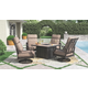Chestnut Ridge 3-Piece Outdoor Conversation Set