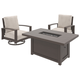 Cordova Reef 3-Piece Outdoor Conversation Set
