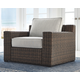 Alta Grande Outdoor Lounge Chair with Ottoman