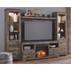 Trinell 4-Piece Entertainment Center with Fireplace