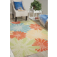 Nourison Home & Garden Multicolor 5' X 8' Area Rug