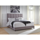 """Dolante King Upholstered Bed with 10"""" Hybrid Mattressin a Box"""