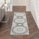 Nourison Key Largo 10' Runner Gray Area Rug