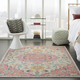 Nourison Passion 7' x 10' Ivory, Pink Bohemian Area Rug