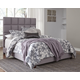 "Dolante Queen Upholstered Bed with 12"" Hybrid Mattress in a Box"