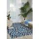 Nourison Home & Garden Blue 8' X 11' Rug