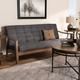 Baxton Studio Mid-Century Modern Sofa