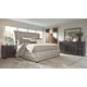 Zimbroni 5-Piece King Upholstered Bedroom