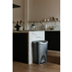 Home Accent Brim 13 Gallon (50L) Trash Can with Lid