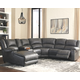 Brambleton 6-Piece Reclining Sectional with Chaise