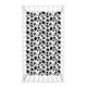 Trend Lab Cow Print Flannel Fitted Crib Sheet