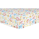 Trend Lab ABC Fitted Crib Sheet