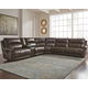 Dak 6-Piece Reclining Sectional with Power