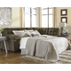 Accrington 2-Piece Sectional with Chaise and Sleeper