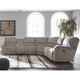 Pittsfield 4-Piece Reclining Sectional with Power