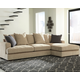 Aquaria 2-Piece Sectional with Chaise